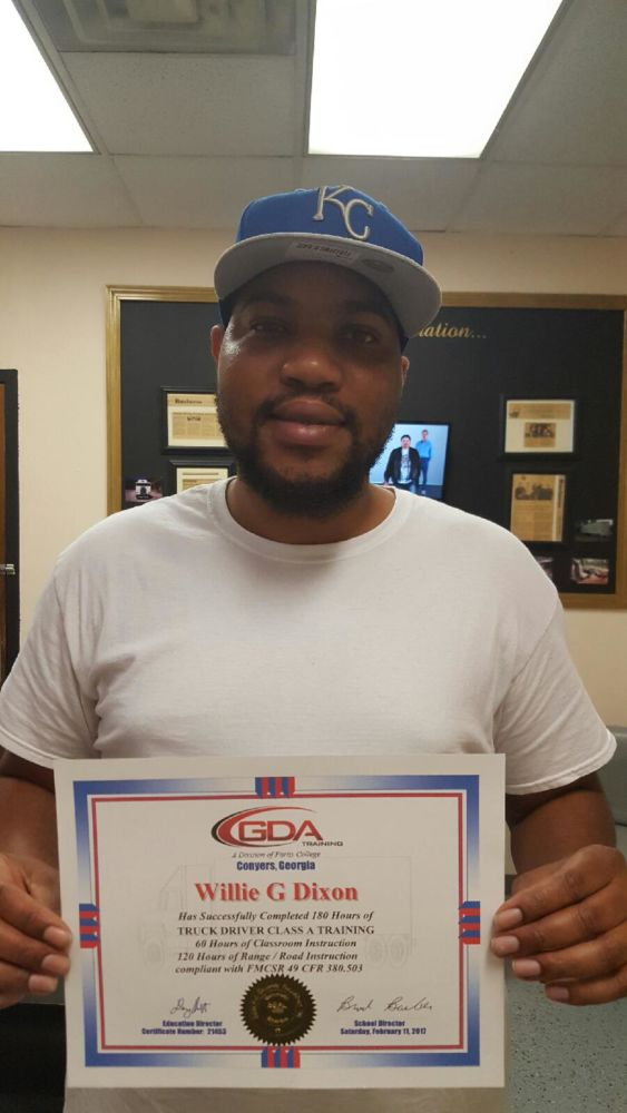 GDA Grad Willie Dixon Jr.