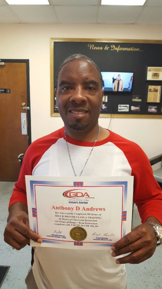 GDA Grad Anthony Andrews