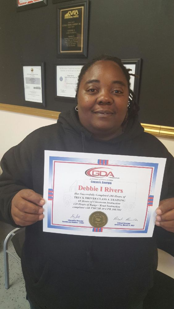 GDA Grad Debbie Rivers
