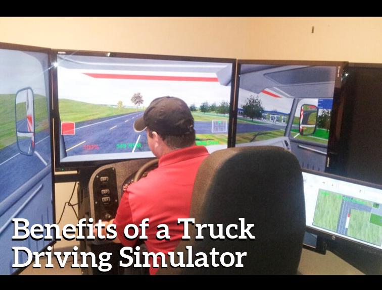 Truck Driving Simulator Benefits